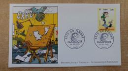 FDC N°3370 : Fête Du Timbre. Gaston Lagaffe D'André Franquin. - 2000-2009