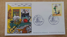 FDC N°3371 : Fête Du Timbre. Gaston Lagaffe D'André Franquin. - 2000-2009