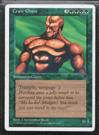 """MAGIC The GATHERING  """"Craw Giant""""---CHRONICLES (MTG-103-2) - Unclassified"""