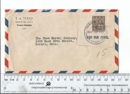 Venezuela Caracas To Lorain Ohio  May 12 1947 ..........(Box 6) - Venezuela