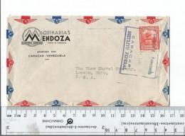 Venezuela Caracas To Lorain Ohio Dec 1950...........(Box 6) - Venezuela