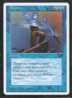 """MAGIC The GATHERING  """"Teleport""""---CHRONICLES (MTG-103-6) - Unclassified"""