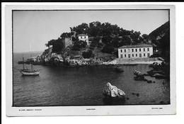 GREECE , POSTCARD OF DAMOUCHARI - Νταμούχαρη - ΣΤΟΥΡΝΑΡΑΣ ΒΟΛΟΣ , MILITARY MAIL STAMP , 1941 . - Grèce