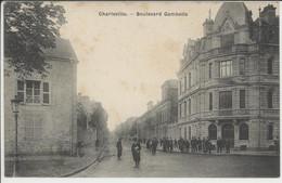 08- Charleville. - Boulevard Gambetta - Charleville