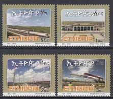 2018 Ethiopia Railway To Djibouti China  Complete Set Of 4 MNH - Ethiopia