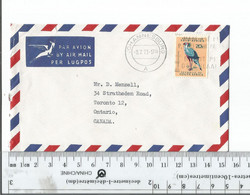 South Africa To Johannesburg To Toronto Canada 9-2-73...............(Box 6) - Covers & Documents