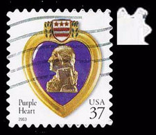 Etats-Unis / United States (Scott No.3784 - Purple Heart) (o) - Used Stamps