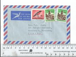 South Africa Basutoland To Winnipeg Man Canada 1966...............(Box 6) - Covers & Documents