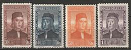 Spain 1930 Sc C37-40  Air Post Partial Set MLH* - Ungebraucht