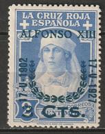 Spain 1927 Sc B20  MLH* - Ungebraucht