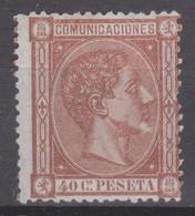 1875 Edifil 167 40 C. Nuevo - Unused Stamps