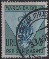 Repubblica Di San Marino - MARCA DA BOLLO - REVENUE - LIRE 30 - Usata - Used - Unclassified