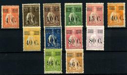 Portugal Nº 454-487 - Unused Stamps
