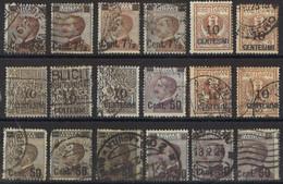 ITALIA 1923 1924 - Francobolli Del 1901 Sovrastampati - Selezione Usati   (1311) - Used