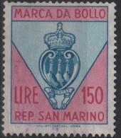Repubblica Di San Marino - MARCA DA BOLLO - REVENUE - LIRE 150 - Usata - Used - Unclassified
