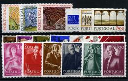 Portugal Nº 1217/19, 1228/42 - Unused Stamps