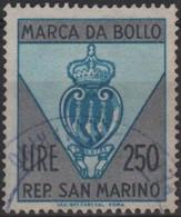Repubblica Di San Marino - MARCA DA BOLLO - REVENUE - LIRE 250 - Usata - Used - Unclassified