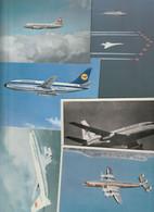 Lot 43 Ansichtskarten Motiv Flugzeug Und Flughafen, In- Und Ausland, Viele ältere Karten - 5 - 99 Cartoline