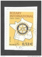 France Oblitérés - Autoadhésif - Rotary - N° 52 (3750A) - Cote: 2 Euros - Cachet Rond - TB - Adhésifs (autocollants)