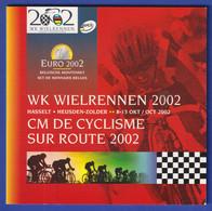 Belgien Euro-Kursmünzen-Satz WK Wielrennen 2002 - Unclassified