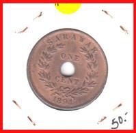 GRAN BRETAÑA  ( SARAWAK PROTECTORADO BRITANICO  )   MONEDA DE 1 CENTIMO  DEL AÑO 1894 - D. 1 Penny