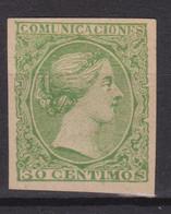 1898  SELLO PRUEBA PUNZON 30 C. - Unused Stamps