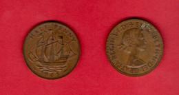 UK, 1964 ,  1/2P, QEII, Bronze,   KM896, C3729 - C. 1/2 Penny