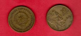 YUGOSLAVIA, 1955 , 20 Dinara, Alu-bronze, KM34, C3717 - Yugoslavia