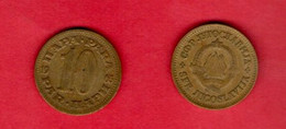 YUGOSLAVIA, 1965 , 10 Para, Copper Zinc, KM44, C3719 - Yugoslavia