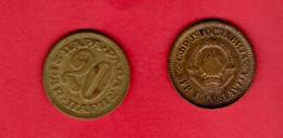 YUGOSLAVIA, 1965 , 20 Para, Copper Zinc, KM45, C3718 - Yugoslavia