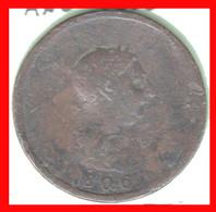 GRAN BRETAÑA MONEDA DE 1 PENIQUE DEL AÑO 1806 JORGE III - C. 1 Penny