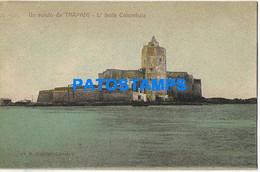 166486 ITALY TRAPANI SICILIA ISLAND COLOMBAIA POSTAL POSTCARD - Unclassified