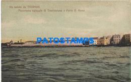 166488 ITALY TRAPANI SICILIA PANORAMA BEACH OF TRAMONTANA AND FORTE S. ANNA POSTAL POSTCARD - Unclassified