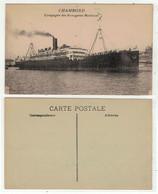 """Bateaux // Paquebots // Paquebot, """"Le Chambord"""" - Paquebote"""