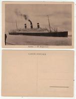 """Bateaux // Paquebots //  Anvers, Paquebot, """" SS. Belgenland """" - Paquebote"""