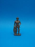 Figurine En Métal Kinder - Série Les Huns - Hun N°4 - Finition Laiton - Figurine In Metallo