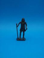Figurine En Métal Kinder - Série Les Chefs Indiens Célèbres II - Chato - Scame - Finition Bruni - Figurine In Metallo