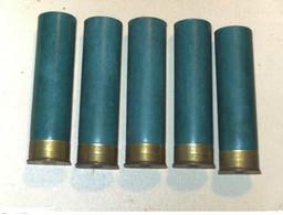 RARE Lot De 5 Douilles En Carton De Calibre 4 - Sammlerwaffen