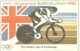 Great Britain Postcard 1992 Barcelona Olympic Games - Mint  (DD25-46) - Verano 1992: Barcelona
