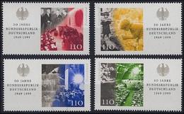 Bund, Michel Nr. 2051-2054 - Einzelmarken Aus Block 49 Postfrisch - Nuovi