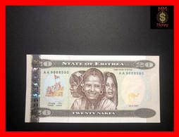 ERITREA 20 Nakfa  24.5.1997  P. 4   UNC - Eritrea