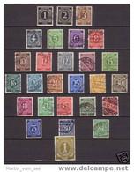 Zones A.A.S.1946 YT Nr. 1 - 27 Oblitérés, Lot 1335 - Amerikaanse, Britse-en Russische Zone