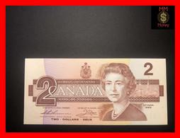"CANADA 2 $  1986  P. 94  ""sig. Thiessen - Crow""   UNC - - Canada"