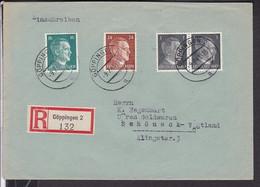 Brief   Deutsches Reich   Stempel  Göppingen 1943 - Storia Postale