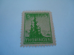 THURINGEN USED STAMPS - Ohne Zuordnung
