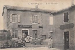 38 - SAUGNIEU - Hôtel HARCHINET - Andere Gemeenten