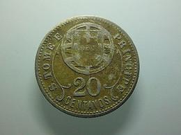 Portuguese S. Tomé E Príncipe 20 Centavos 1929 - Portugal