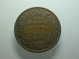 British India 1/4 Anna 1936 - Colonies