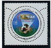 Maroc ** N°1455 - 50e Ann. De La C.A.F. (foot) - Maroc (1956-...)