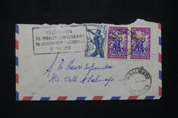 CAMEROUN - Cachet  De La Célébration Du 1er Gouvernement Camerounais Sur Enveloppe En 1958 - L 103135 - Lettres & Documents
